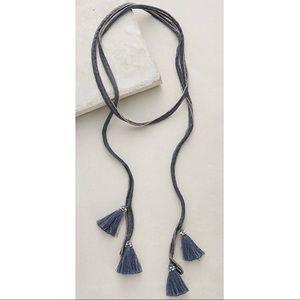 Chan Luu - Tassel Wrap Necklace/Choker